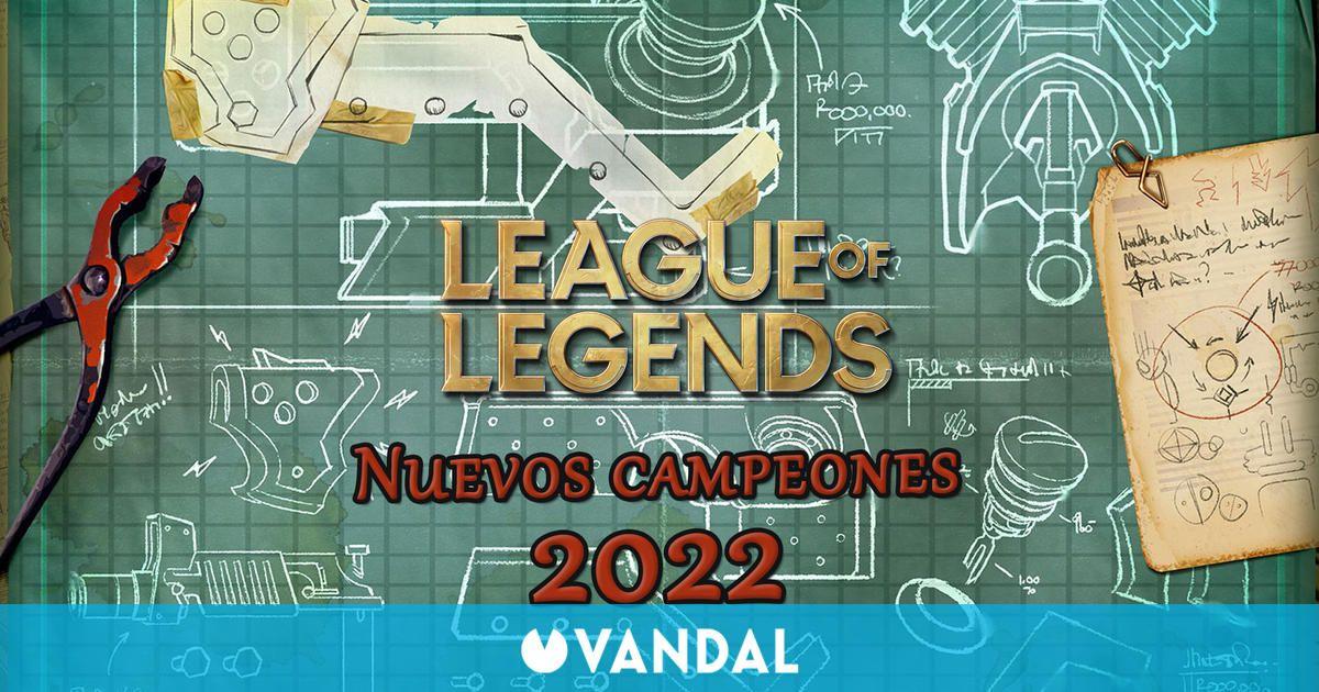 League of Legends desvela detalles sobre sus dos próximos campeones para 2022