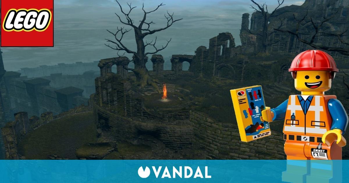 Dark Souls: Recrean el Santurario de Enlace de Fuego en LEGO con resultado espectacular