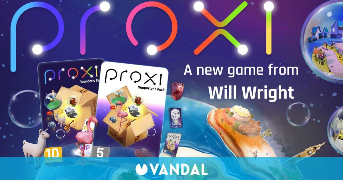 Proxi, el nuevo juego del creador de Los Sims, utilizará NFT creados por la comunidad