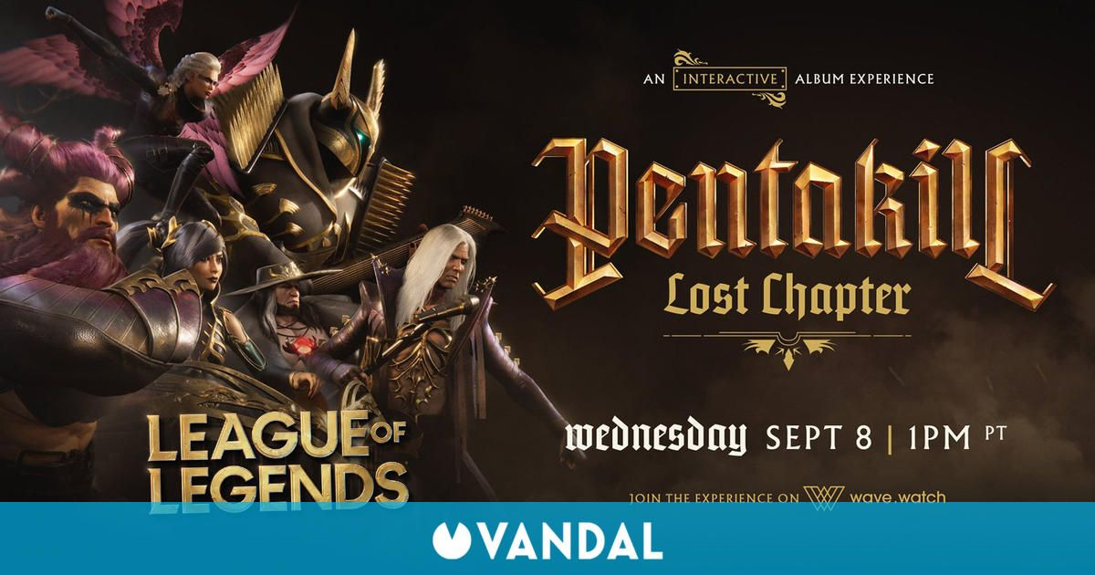 League of Legends anuncia un concierto virtual de Pentakill; fecha, hora y cómo verlo