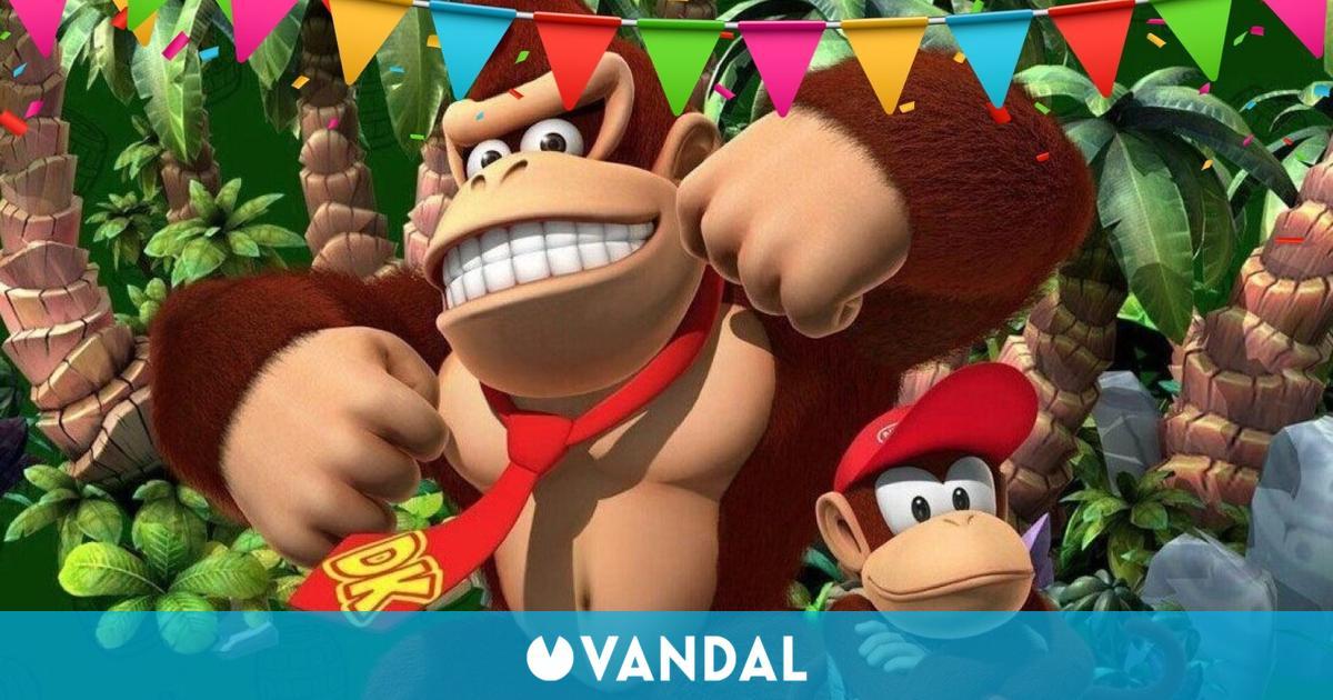 Donkey Kong está de enhorabuena: la franquicia supera los 65 millones de juegos vendidos