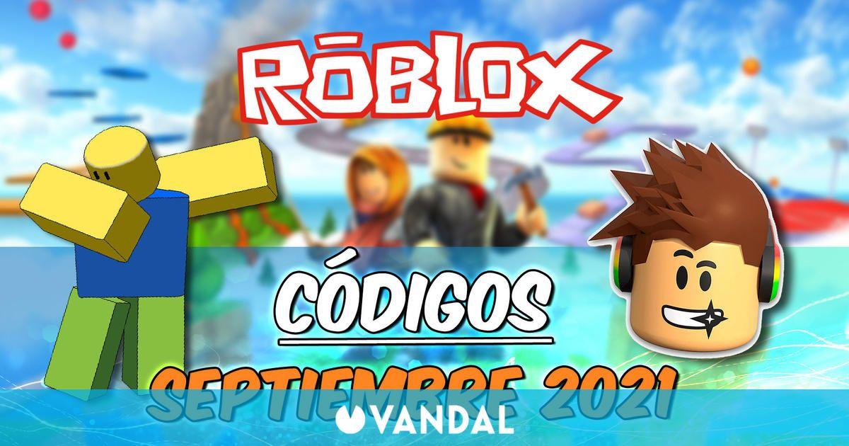 Promocodes Roblox (Septiembre 2021): todos los códigos y recompensas gratis