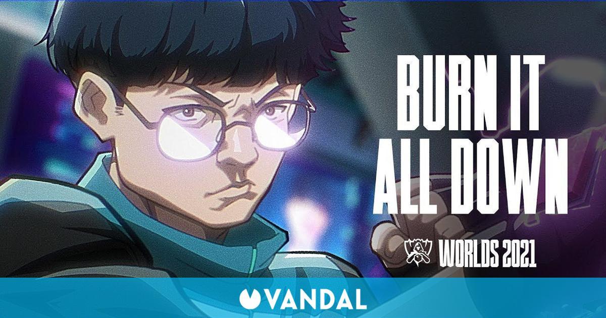 Los Worlds 2021 de League of Legends ya tienen su canción oficial: Burn It All Down