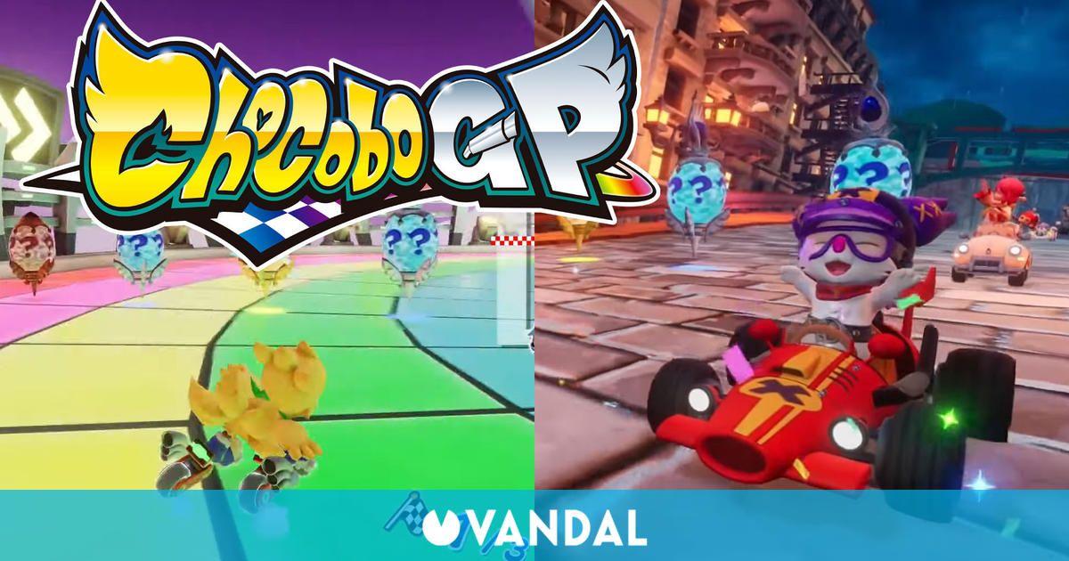 Chocobo GP se muestra en nuevos gameplays con diferentes pistas y mecánicas