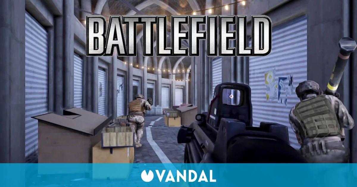 Battlefield Mobile se deja ver en sus primeras imágenes en Google Play