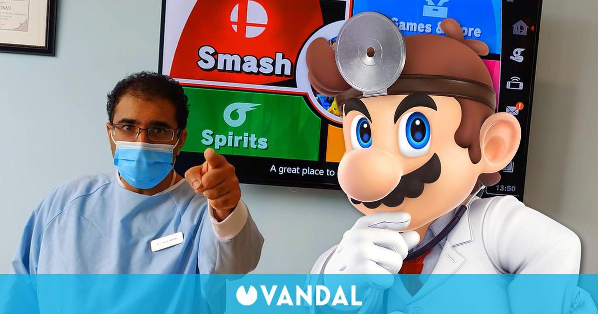 Si vences a este dentista en Super Smash Bros. Ultimate consigues una limpieza dental gratis