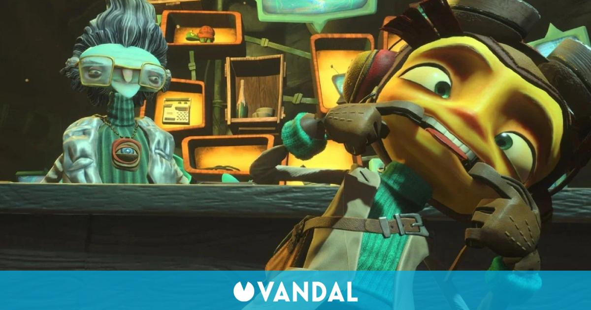 Psychonauts 2: Así sería el loco juego de Double Fine con voces en español
