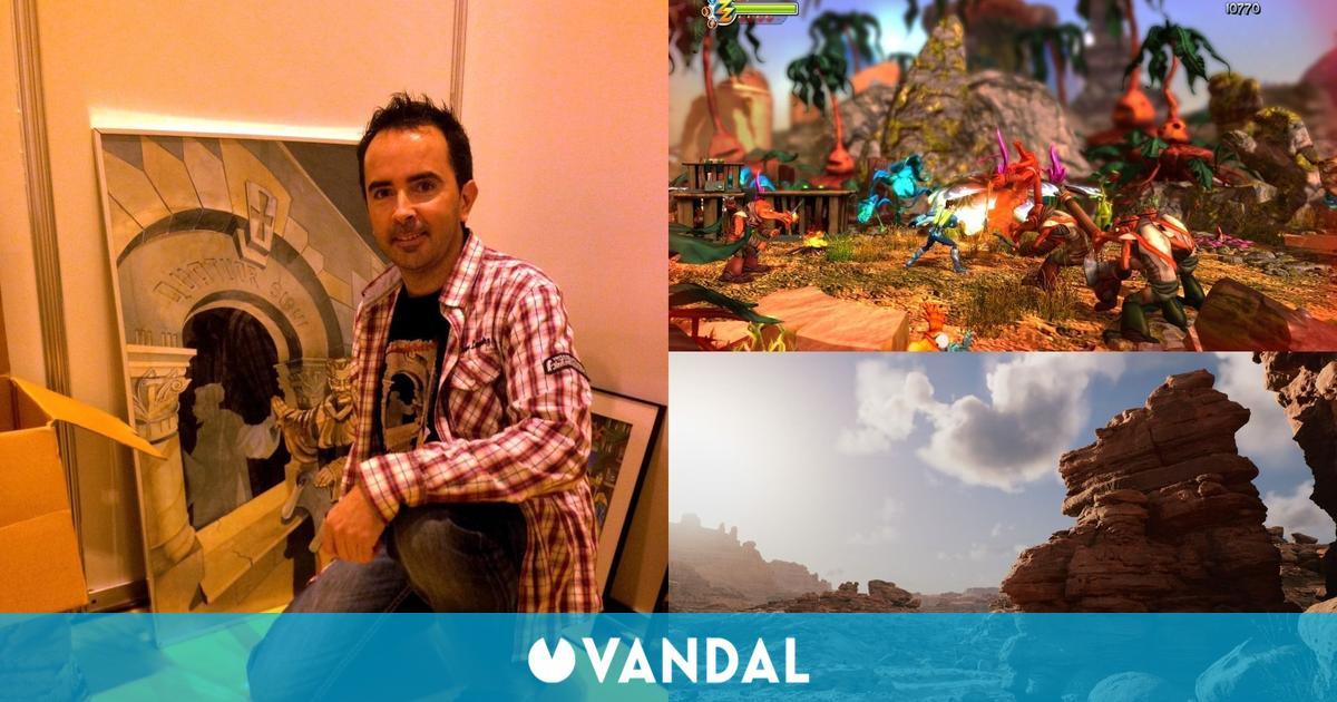 Alberto 'Grihan' Moreno, el artista que transforma la realidad en mundos digitales