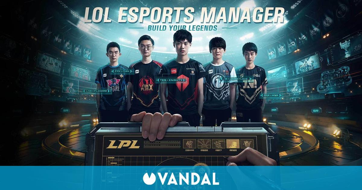 LoL Esports Manager: Riot Games presenta el juego de simulador de entrenador de LoL
