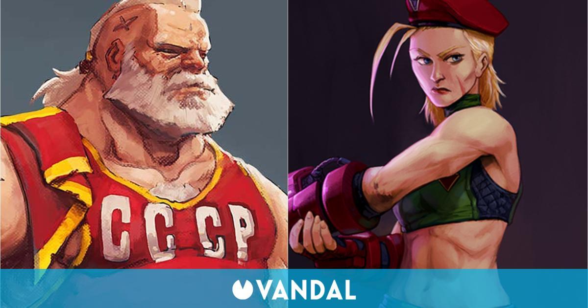 Street Fighter: Este sería el aspecto de sus protagonistas con su edad real
