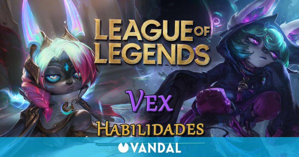 League of Legends presenta las habilidades de Vex, disponible el 23 de septiembre