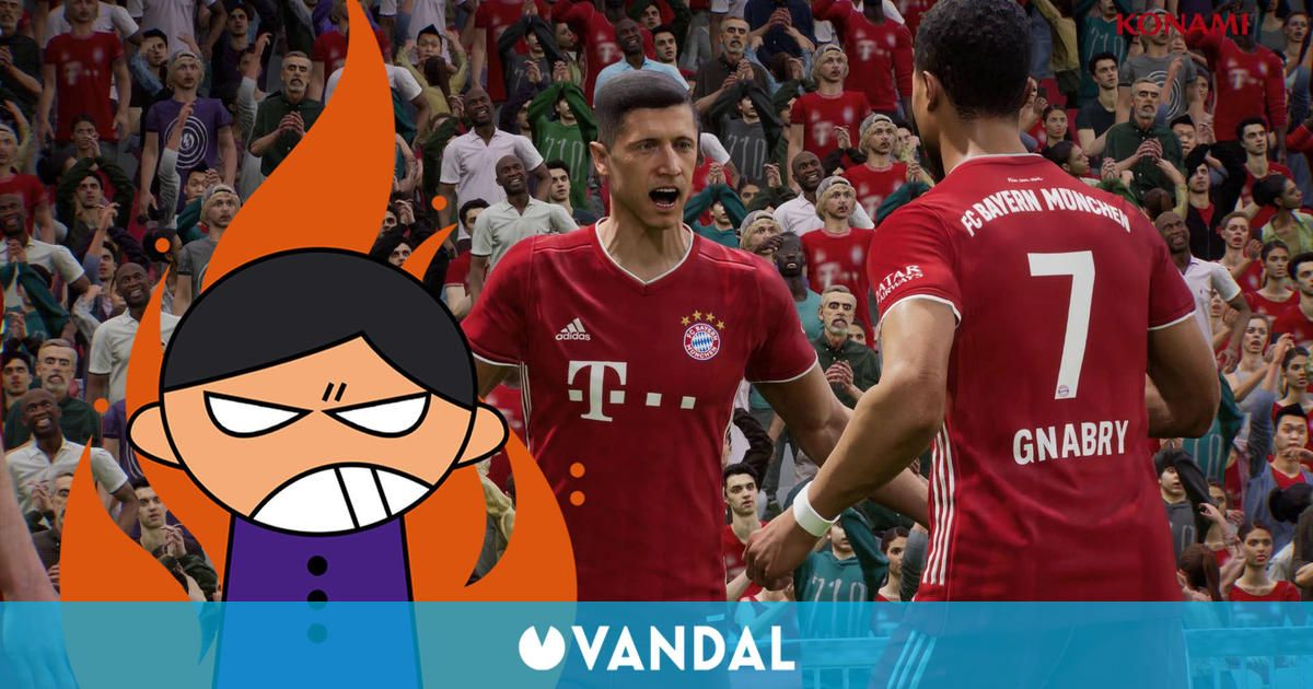 Se filtra un gameplay de eFootball 2022 que ha desatado las críticas de los fans