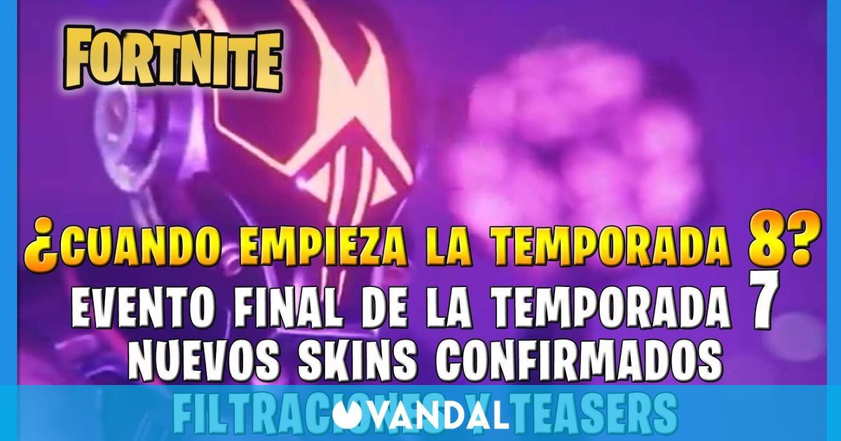 ¿Cuándo empieza la Temporada 8 de Fortnite Battle Royale?