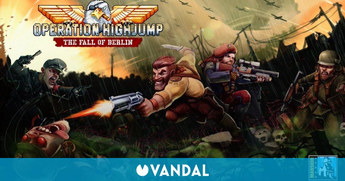 Meridiem Games y Mansion Games se unen para distribuir Operation Highjump: The Fall of Berlin
