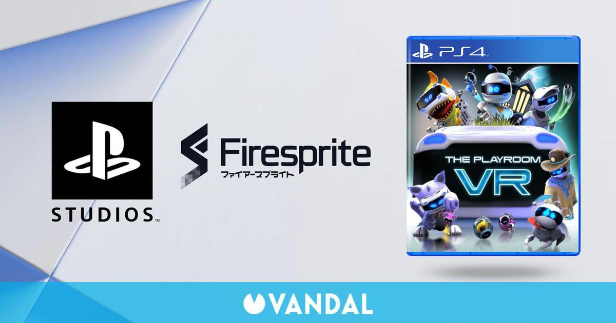 PlayStation Studios adquiere Firesprite, desarrolladora de The Playroom VR