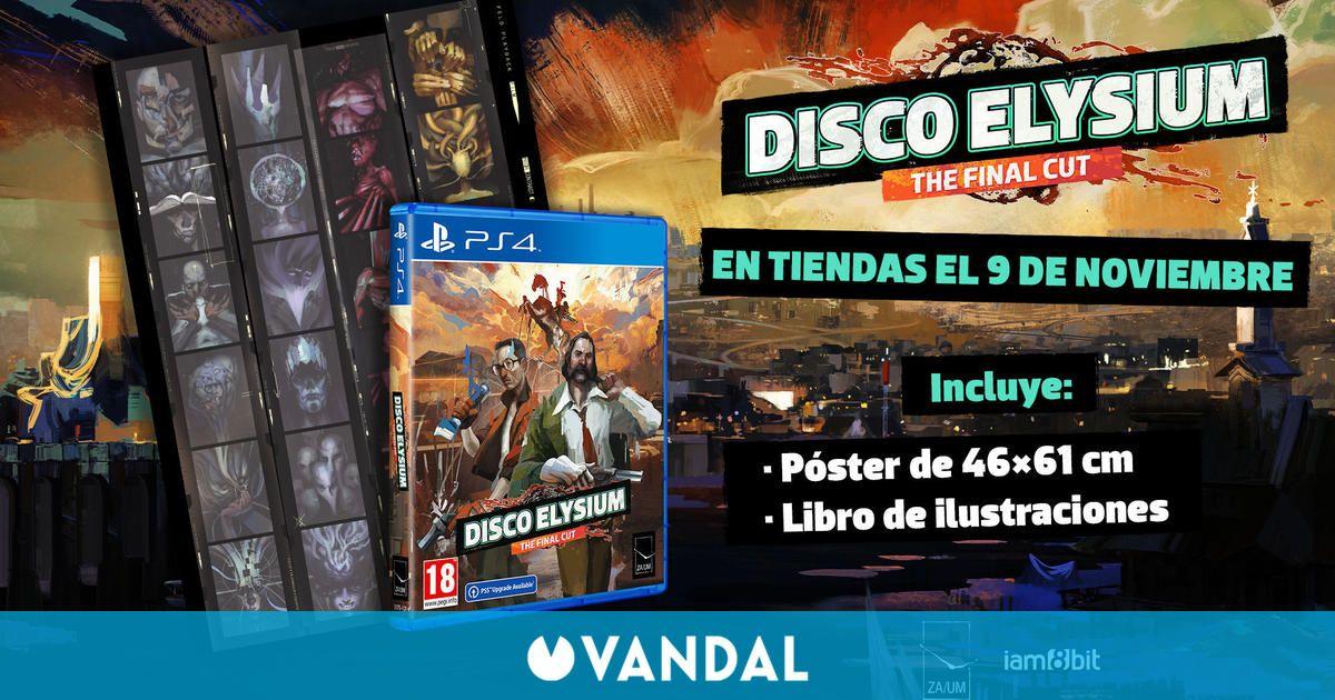 Disco Elysium: The Final Cut tendrá dos ediciones físicas para PS4 y PS5 a finales de año