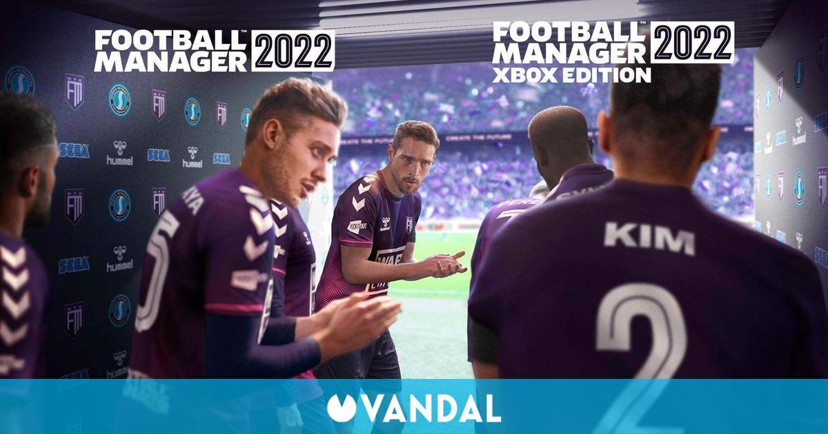 Football Manager 2022 debutará el 9 de noviembre en Xbox, PC, iOS, Android y Xbox Game Pass