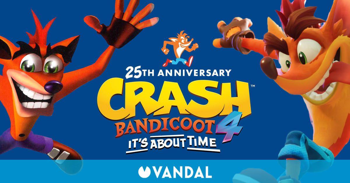 Crash Bandicoot celebra su 25 aniversario con insinuaciones de un nuevo juego