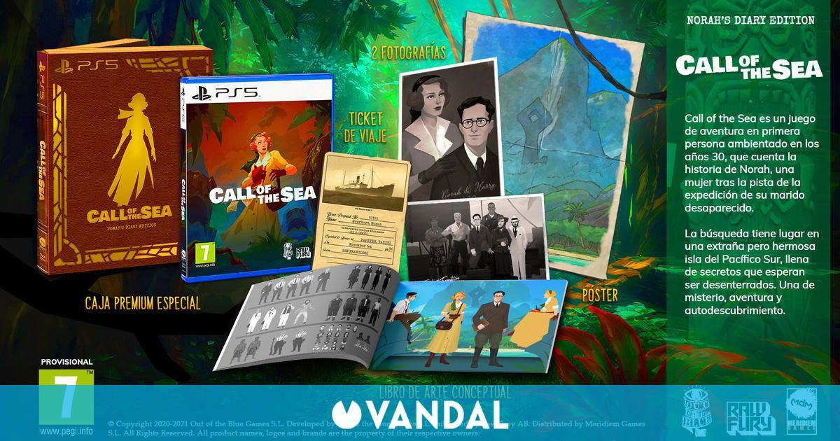 Call of the Sea tendrá edición física en PS4 y PS5 este invierno