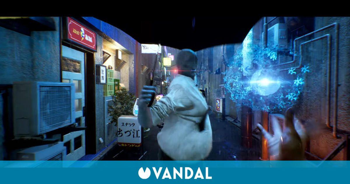 El nuevo gameplay de Ghostwire: Tokyo mezcla terror japonés y superpoderes