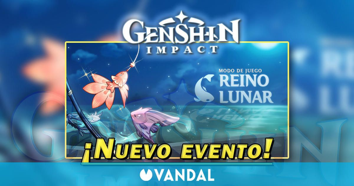 Genshin Impact: Consigue Protogemas gratis en el evento Reino Lunar y más recompensas