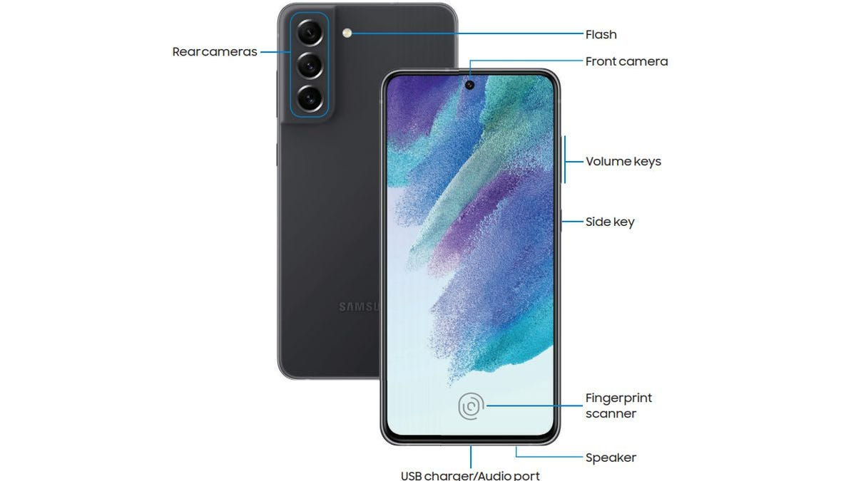 El manual del Galaxy S21 FE confirma algunas de sus filtraciones