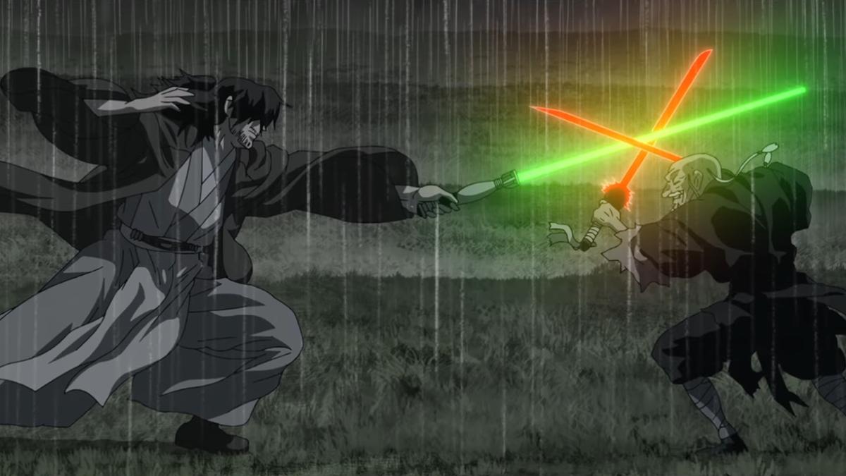 Star Wars Visions no es parte del canon de la saga, pero es fascinante