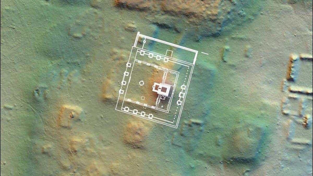 Encuentran distrito perdido en la antigua ciudad maya de Tikal
