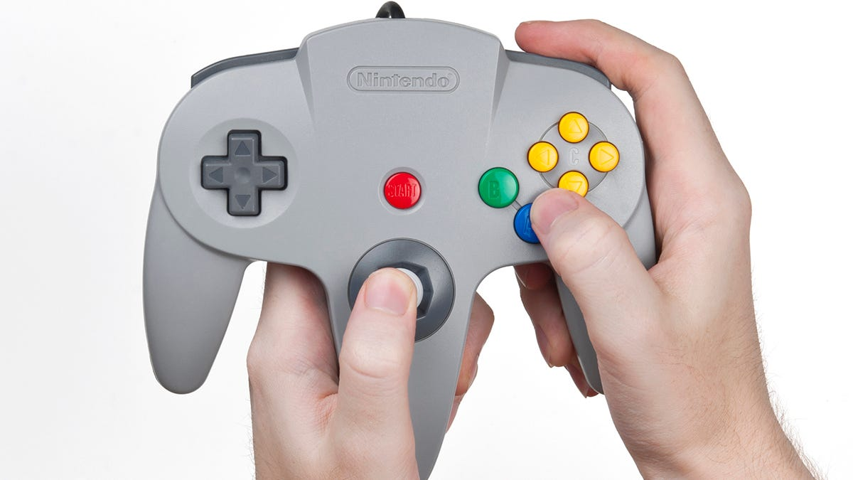 Una patente sugiere que hay un mando de N64 en camino