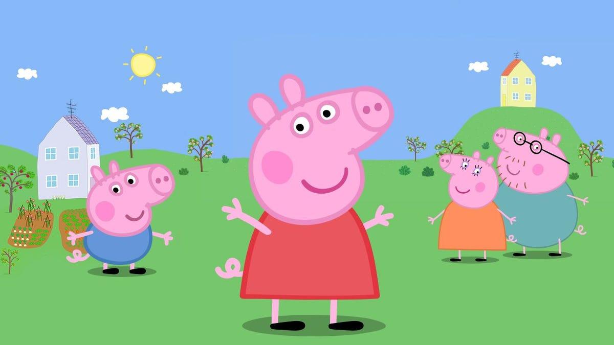 Peppa Pig trolea a Kanye West