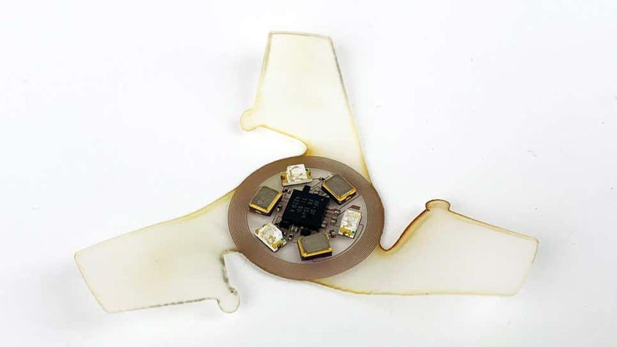 Estos microchips son los más pequeños construidos para volar