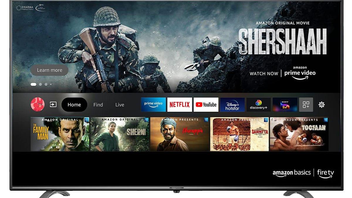 Amazon podría lanzar su propio televisor con Alexa en octubre