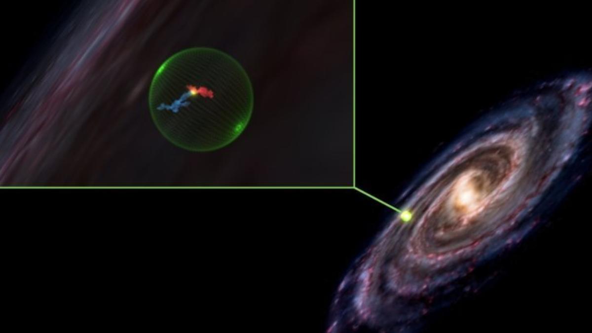 Hay un extraño vacío esférico en la Vía Láctea