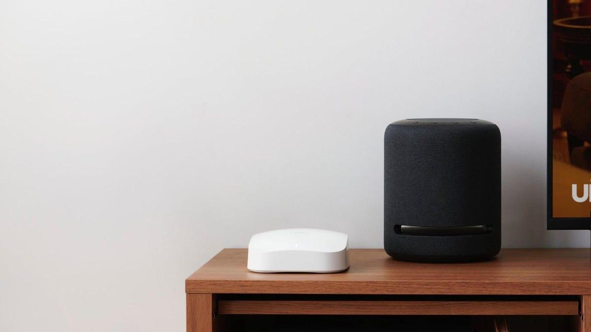 el nuevo router mesh de Amazon tiene Wi-Fi 6 y Zigbee