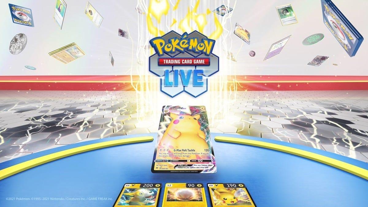 Hay un nuevo juego de cartas de Pokémon para smartphones y PC