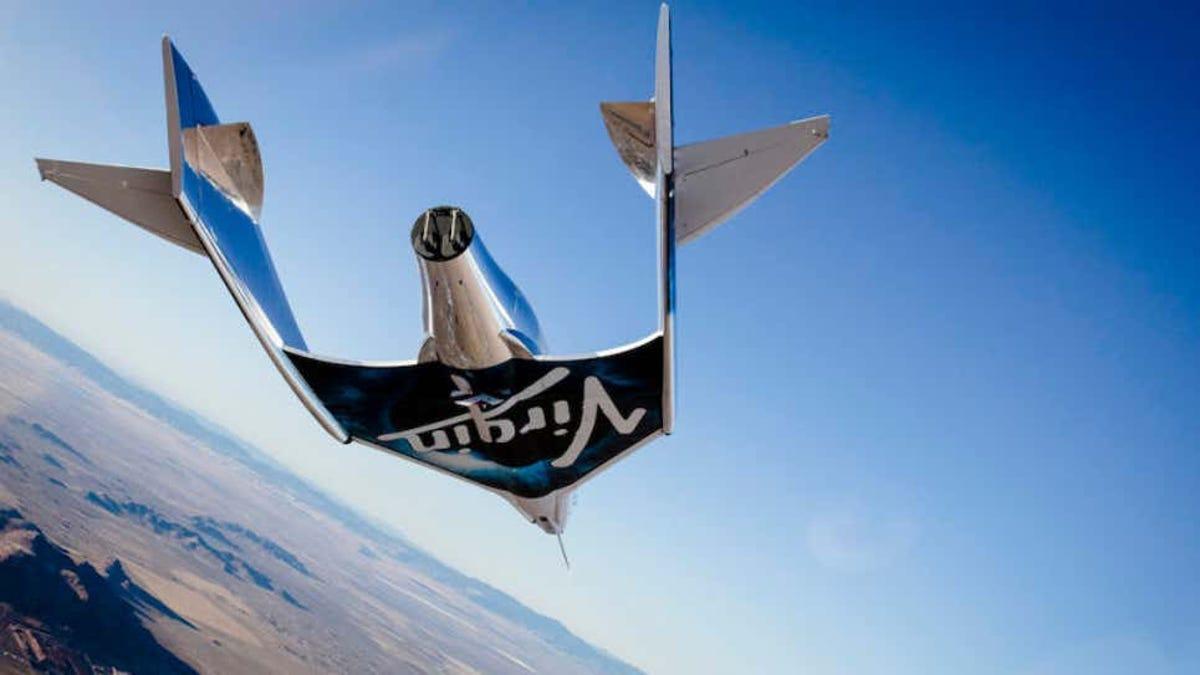 Investigan irregularidades en el vuelo espacial de Virgin