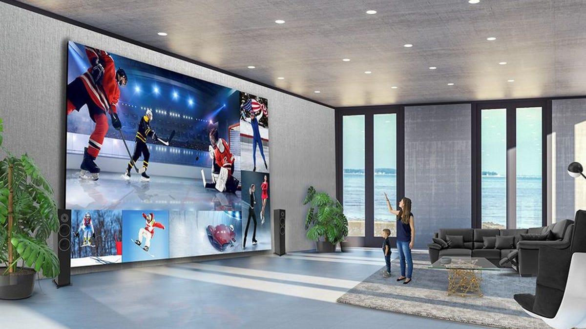 LG lanza pantalla de 325 pulgadas de 1,7 millones de dólares