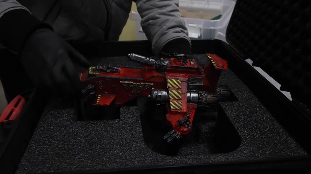 El vehículo de Warhammer más caro del mundo