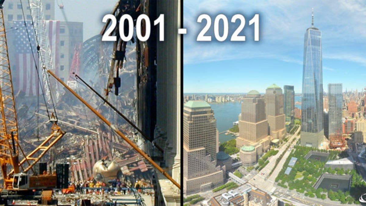 20 años tras el ataque del World Trade Center en time lapse