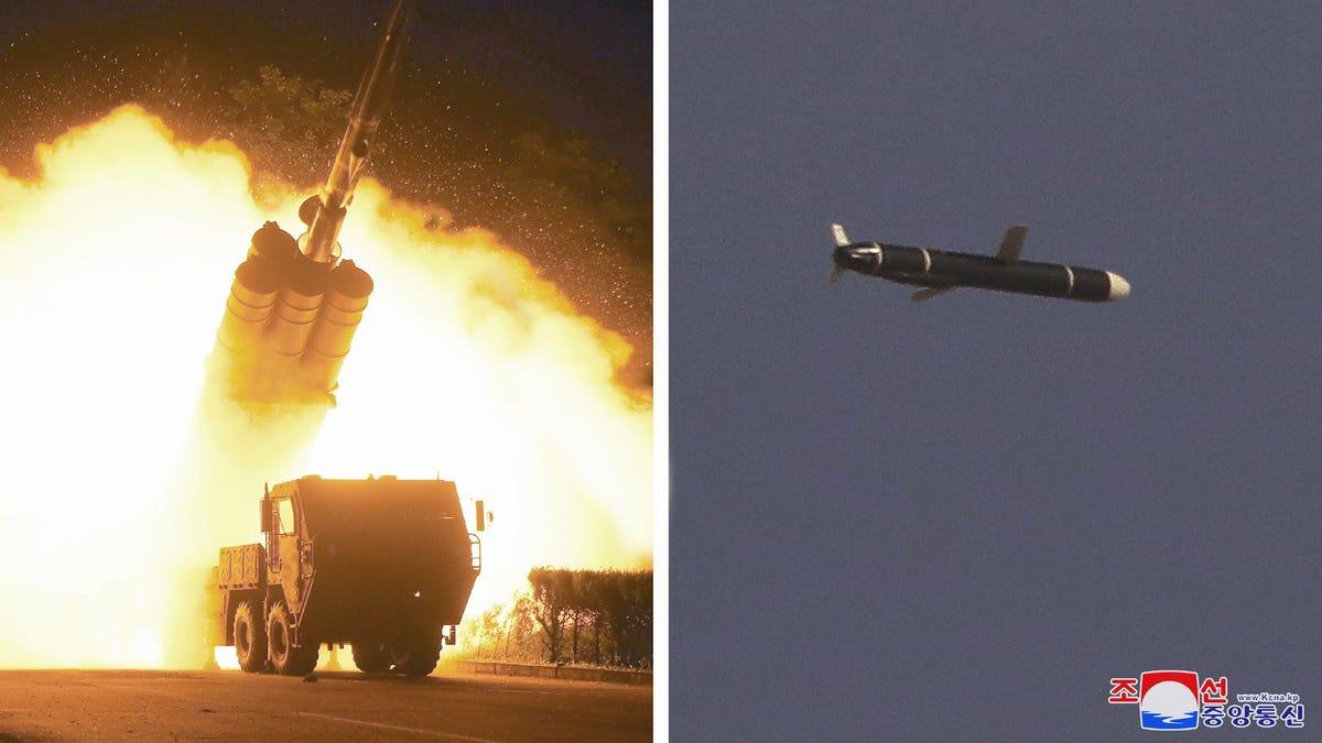 Corea del Norte y Corea del Sur prueban lanzar misiles balísticos el mismo día