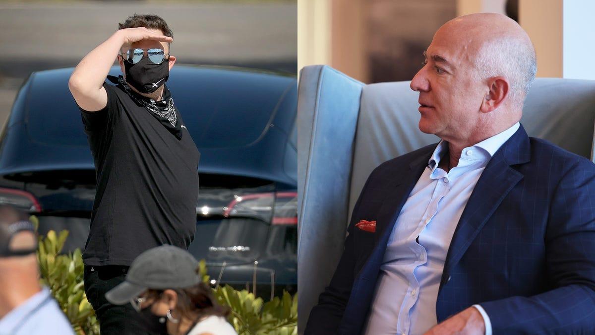 Elon Musk se convierte en el hombre más rico del mundo y se burla de Jeff Bezos