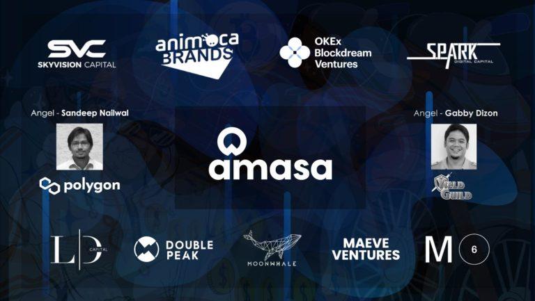 Amasa recauda $ 1.5M liderado por Animoca Brands para construir una aplicación de transmisión de microinversiones
