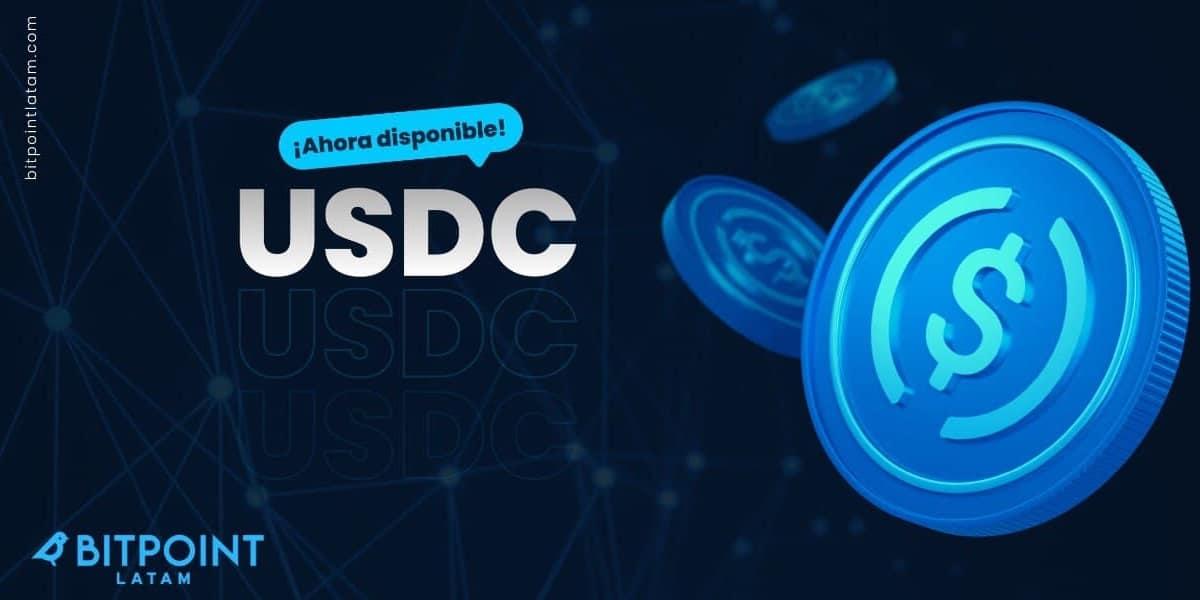 BITPOINT el primer exchange en Latinoamérica en habilitar USDC y USDT en par con el dólar