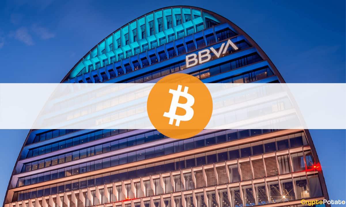 BBVA Ofrecerá En España Servicios De Custodia Para Holders De BTC Y ETH
