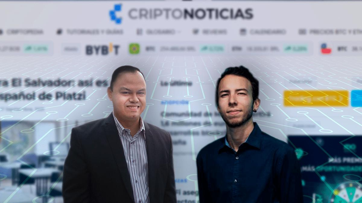 CriptoNoticias designa a Iván Gómez y Rafael Gómez Torres para dirigir la redacción