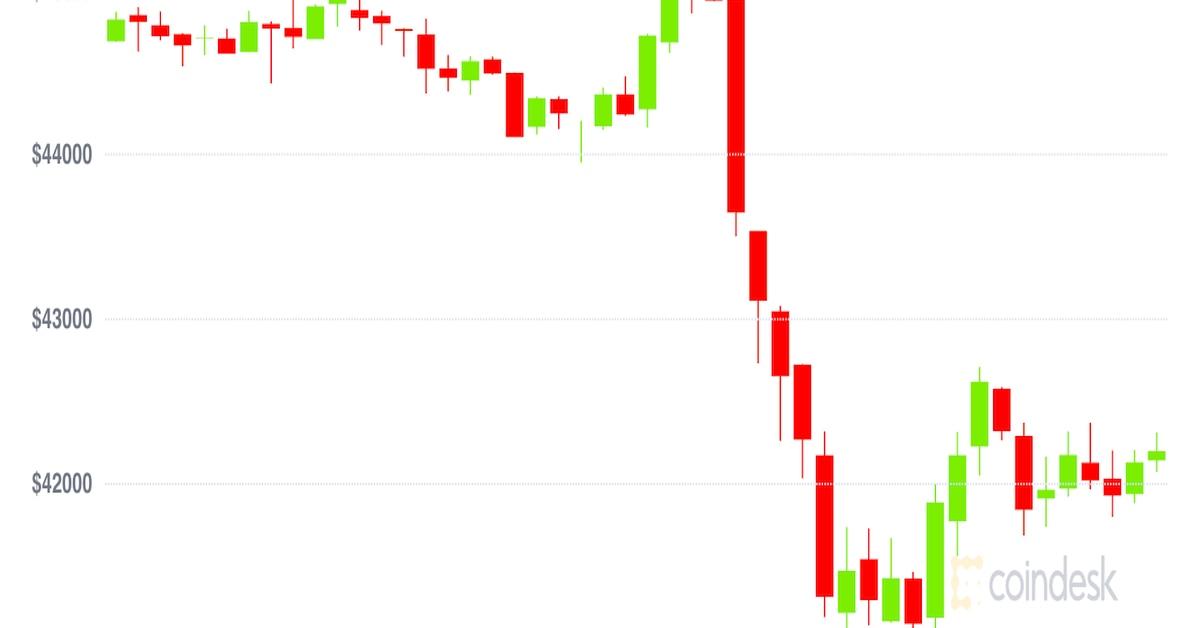 Bitcoin apunta a la mayor pérdida de precio mensual desde mayo