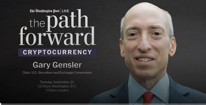 ¿Gary Gensler de la SEC amenazó a Crypto y DeFi en la entrevista de WaPo?