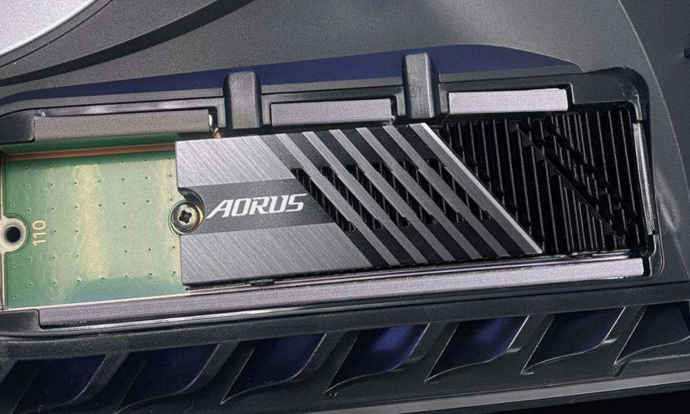 GIGABYTE AORUS Gen4 7000s, otra SSD compatible con la PS5