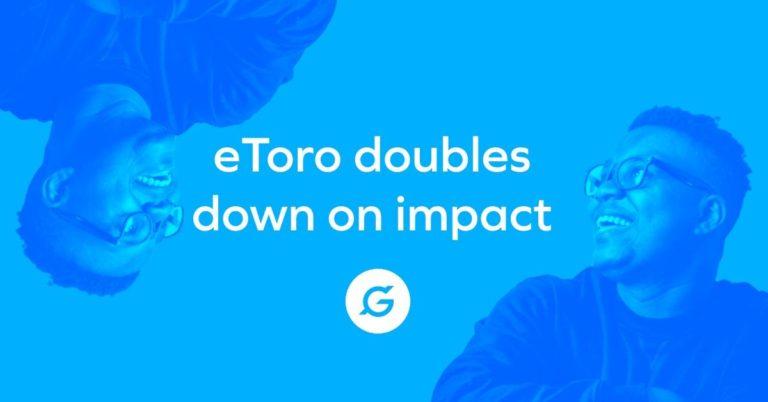 eToro compromete una participación de 1 millón de dólares en el proyecto de renta básica universal GoodDollar