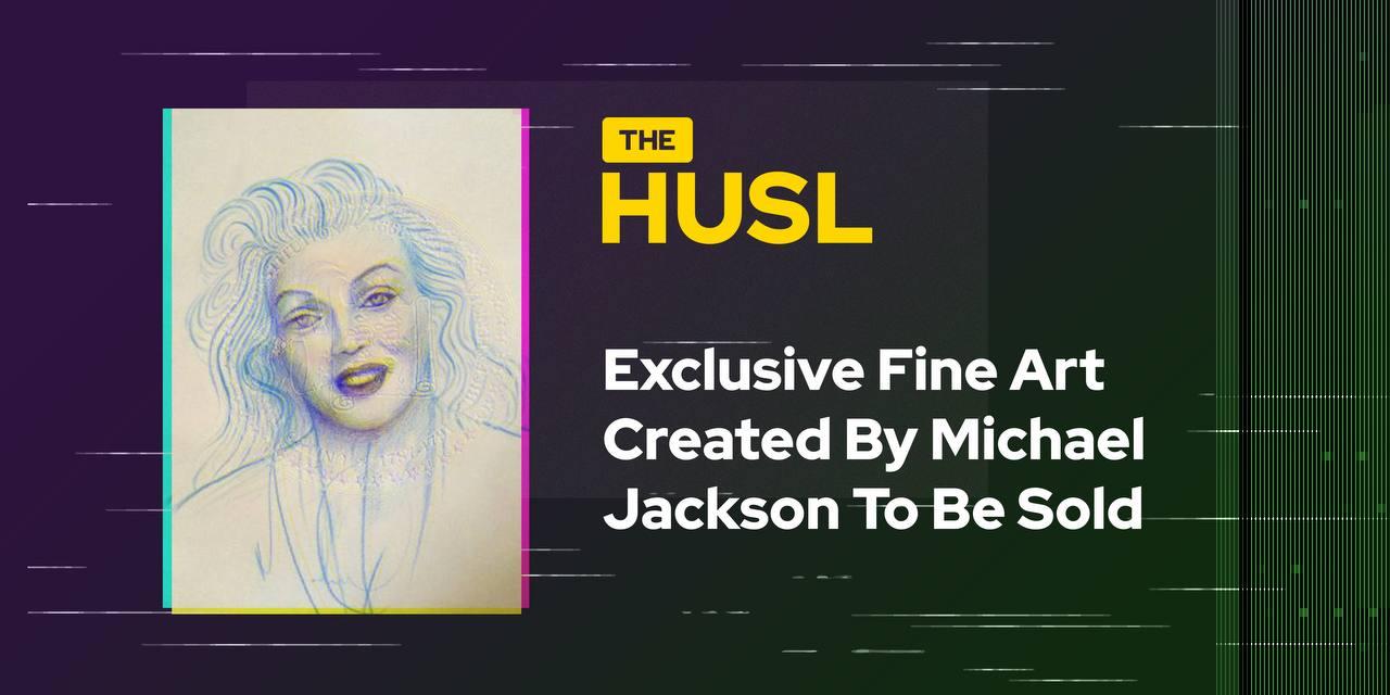 Obras de arte exclusivas creadas por Michael Jackson para la venta